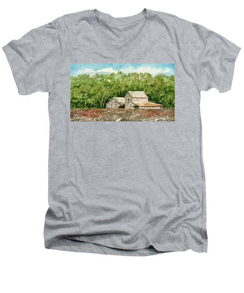 High Cotton Men's V-Neck T-Shirt
