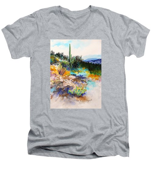 High Desert Scene 2 Men's V-Neck T-Shirt