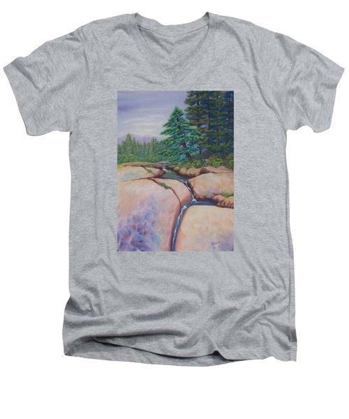 High Sierras Men's V-Neck T-Shirt