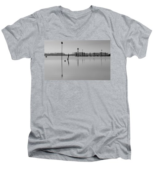 High Tide Ripples Men's V-Neck T-Shirt