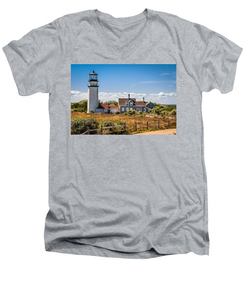 Highland Light Men's V-Neck T-Shirt