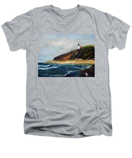 Highland Light Men's V-Neck T-Shirt