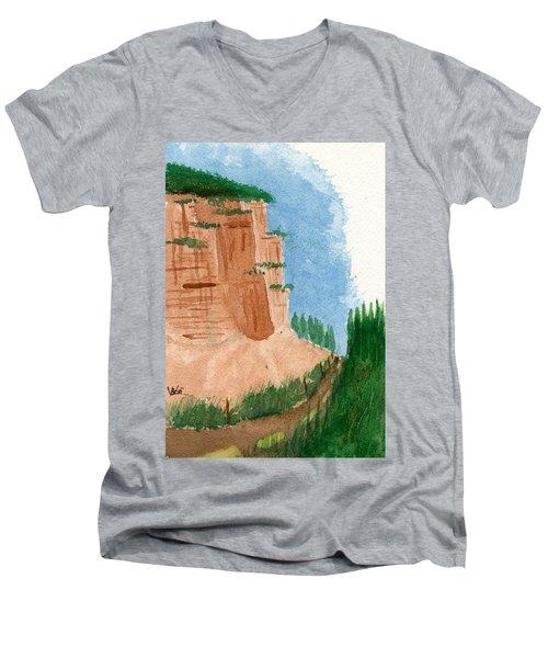 Highway Smile Men's V-Neck T-Shirt