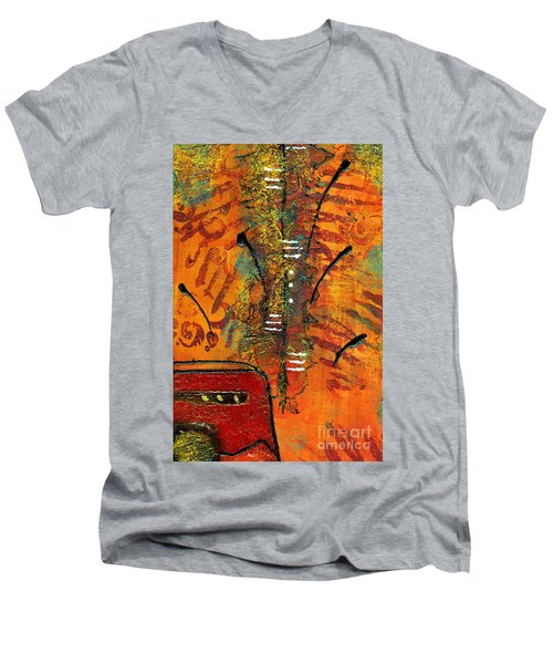 His Vase Men's V-Neck T-Shirt