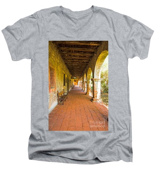 Historical Porch Men's V-Neck T-Shirt