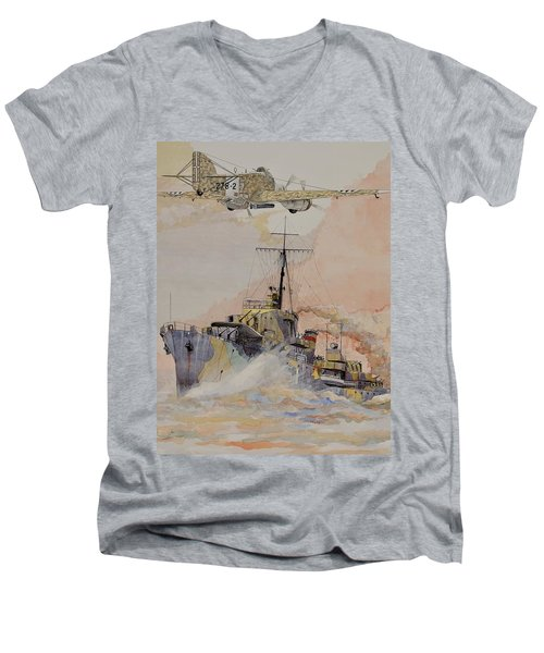 Hms Ashanti Men's V-Neck T-Shirt