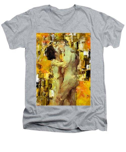 Hold Me Tight Men's V-Neck T-Shirt
