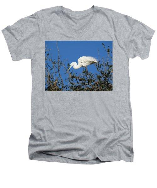 Hold On I'm Coming Men's V-Neck T-Shirt