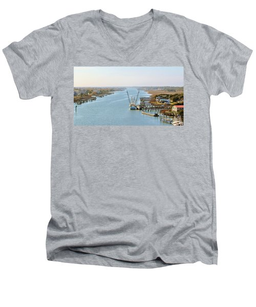 Holden Beach In Nc Men's V-Neck T-Shirt