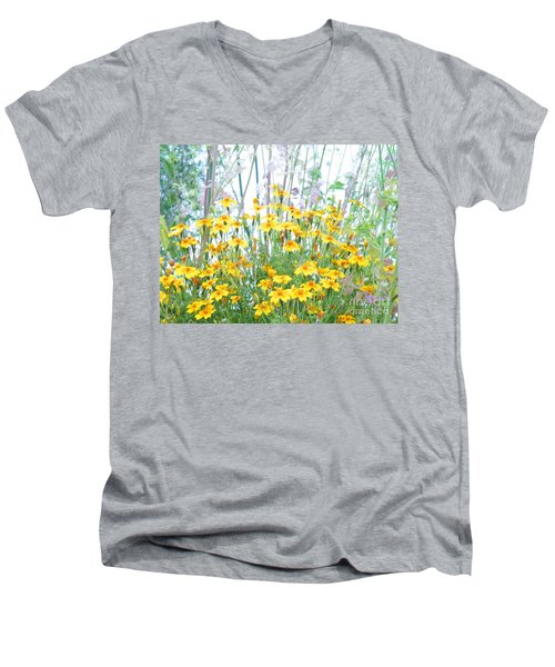 Holding The Foreground Men's V-Neck T-Shirt