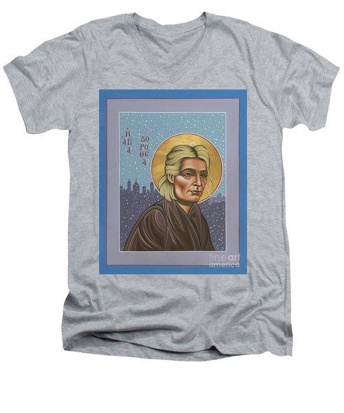 Holy Prophet Dorothy Day 154 Men's V-Neck T-Shirt