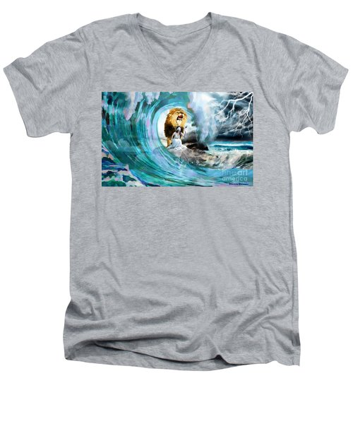 Holy Roar Men's V-Neck T-Shirt