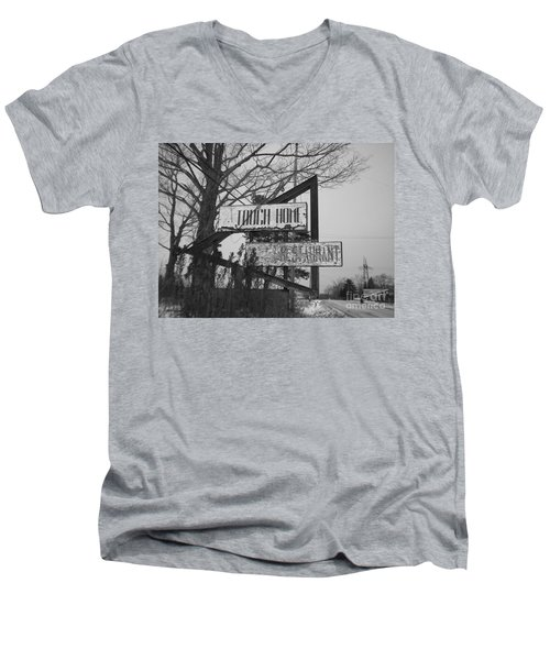 Men's V-Neck T-Shirt featuring the photograph Home Cooking  by Michael Krek