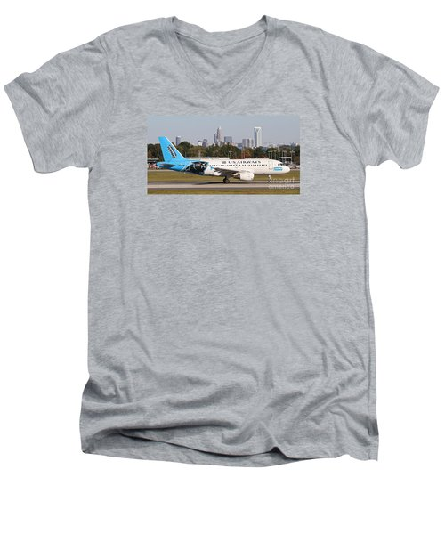 Home Of The Panthers Men's V-Neck T-Shirt
