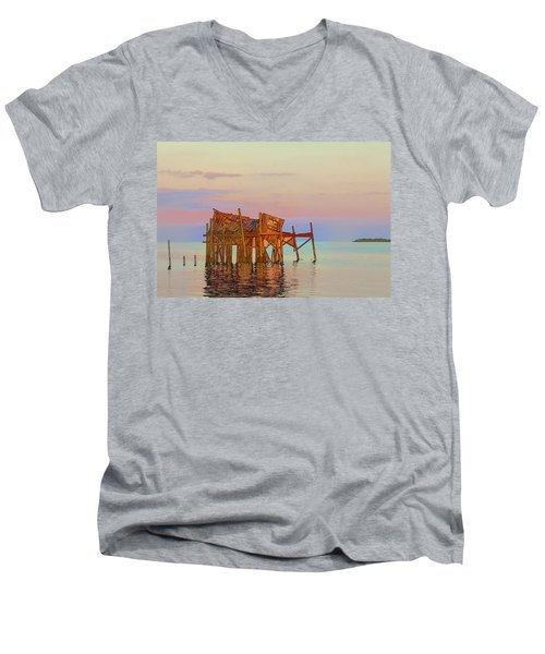 Honeymoon Cottage Men's V-Neck T-Shirt