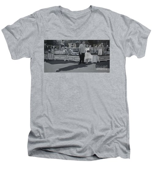 Honeymoon On Main St. Men's V-Neck T-Shirt