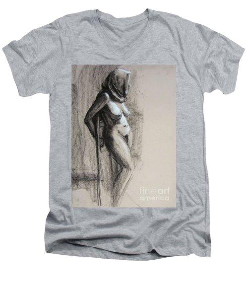 Hood Men's V-Neck T-Shirt