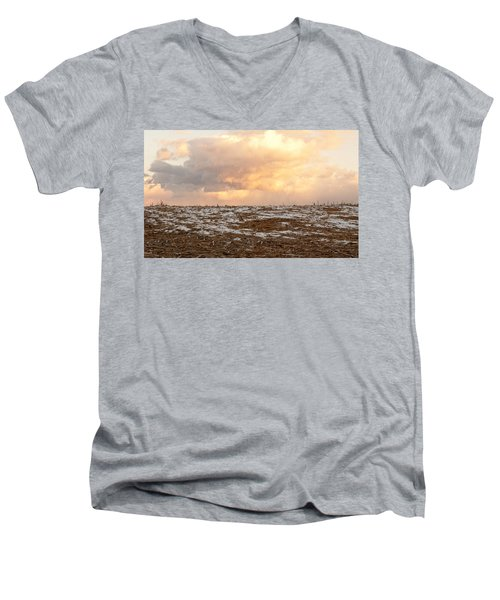Hope For The Desolate Men's V-Neck T-Shirt