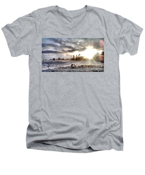 Hope - Landscape Version Men's V-Neck T-Shirt