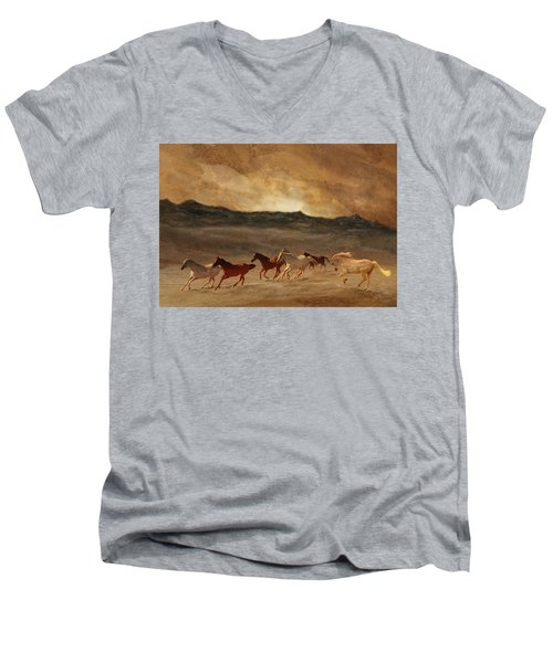 Horses Of Stone Men's V-Neck T-Shirt
