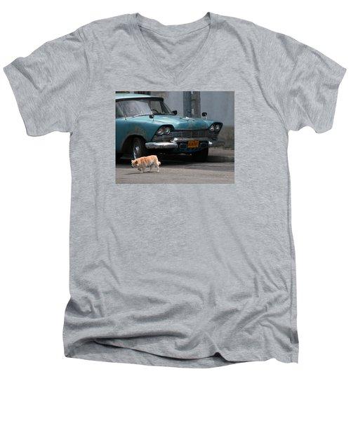 Hot Spot Men's V-Neck T-Shirt