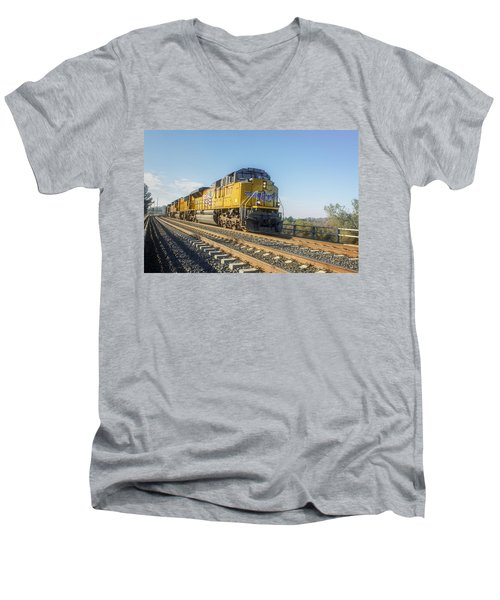 Hp 8717 Men's V-Neck T-Shirt