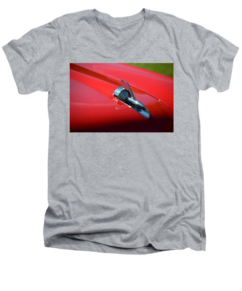 Men's V-Neck T-Shirt featuring the photograph Hr-12 by Dean Ferreira
