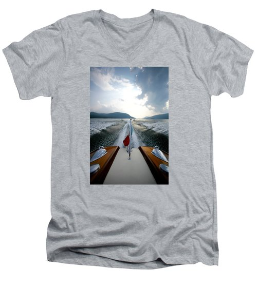 Hudson River Riva Men's V-Neck T-Shirt