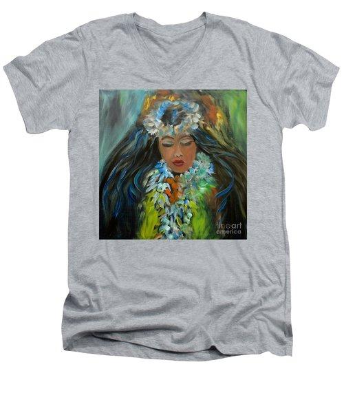Hula  Men's V-Neck T-Shirt