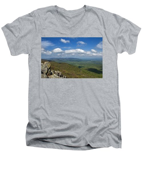 Humpback Rocks View South Men's V-Neck T-Shirt