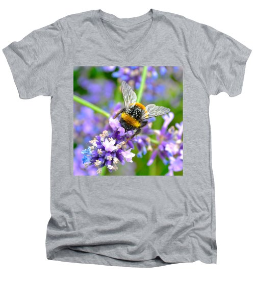 Hungry Bee Men's V-Neck T-Shirt