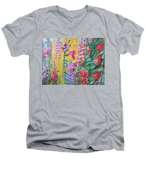 Hybrids 3 Men's V-Neck T-Shirt