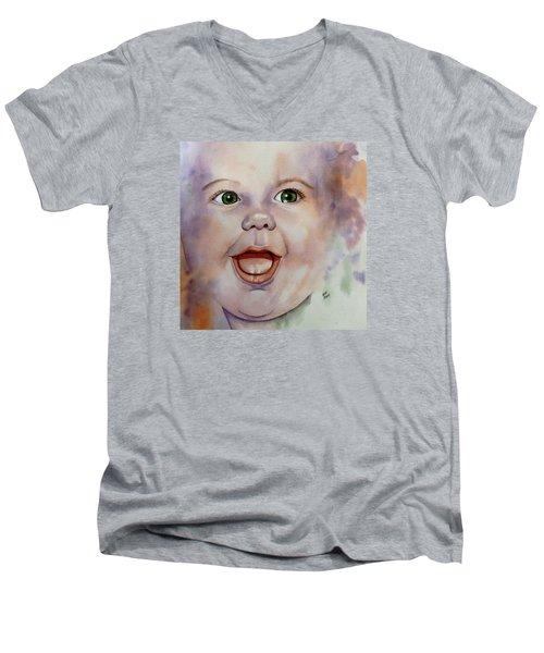 I Love You Baby Men's V-Neck T-Shirt