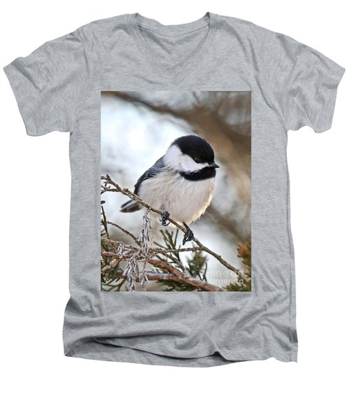 I May Be Tiny But You Should See Me Fly Men's V-Neck T-Shirt by Heather King