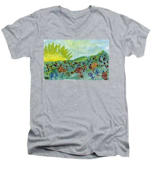 I Will Survive IIi Men's V-Neck T-Shirt