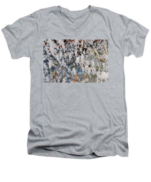 Ice Bubbles  Men's V-Neck T-Shirt