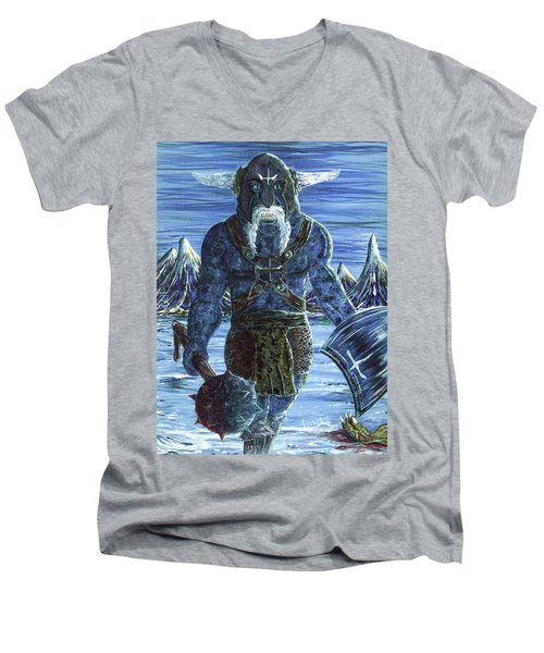 Ice Viking Men's V-Neck T-Shirt
