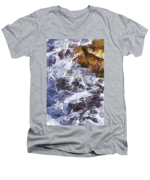 Ice Water Men's V-Neck T-Shirt