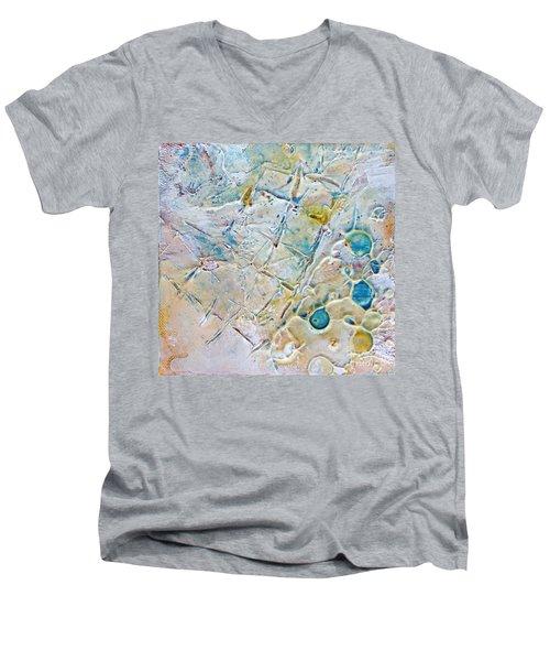 Iced Texture I Men's V-Neck T-Shirt