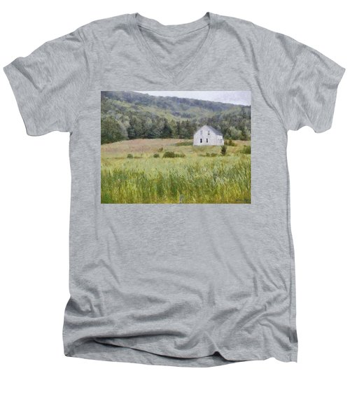 Idyllic Isolation Men's V-Neck T-Shirt