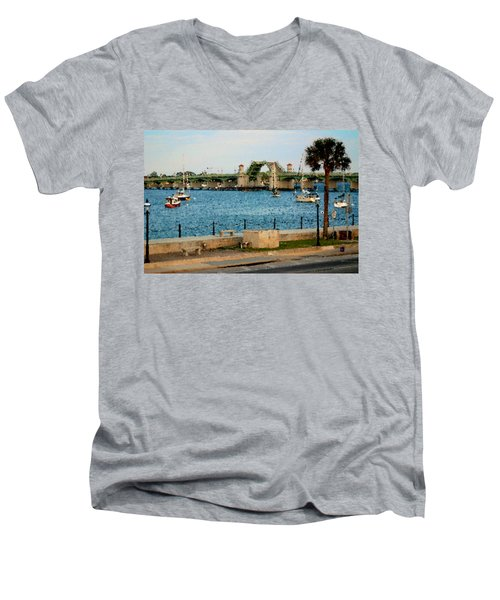 Idyllic Men's V-Neck T-Shirt