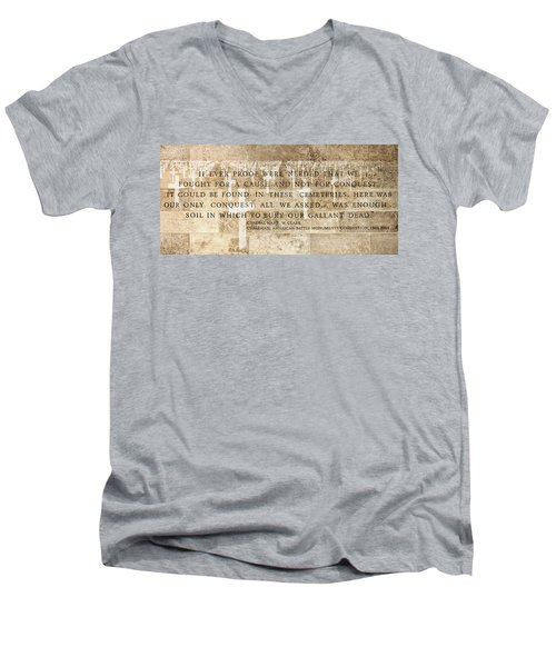 If Ever Proof Were Needed Men's V-Neck T-Shirt