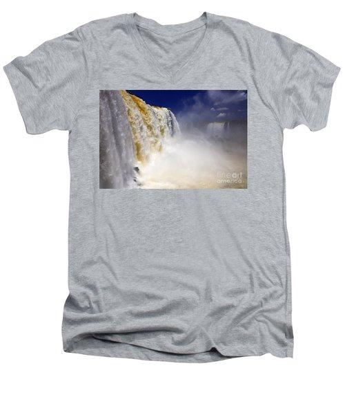 Iguazu Falls I Men's V-Neck T-Shirt