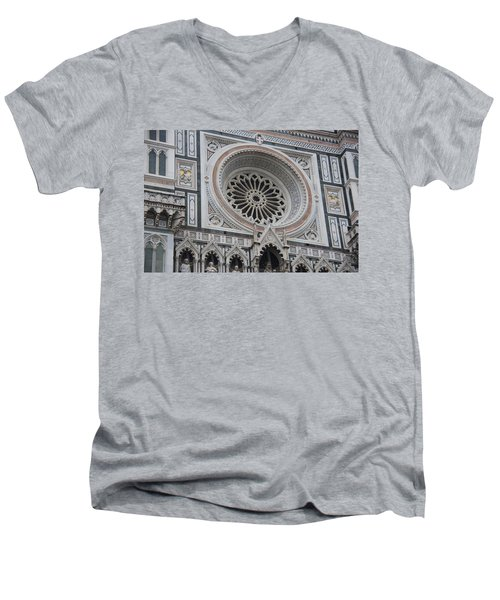 Notre Dame Men's V-Neck T-Shirt