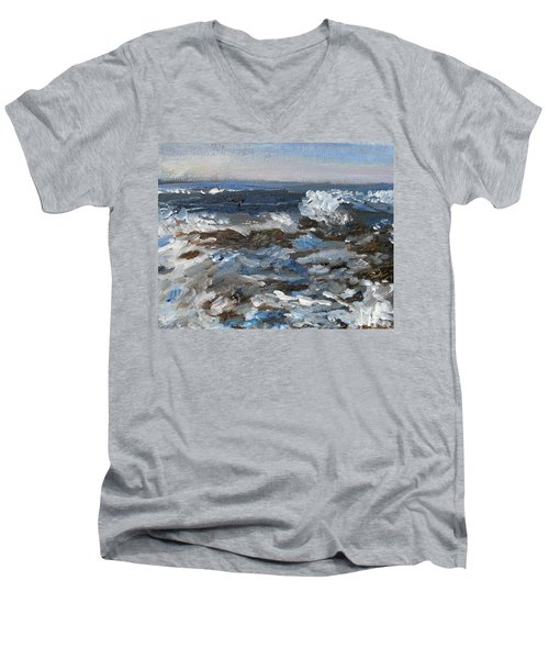 I'll Have A Water On The Rocks Please Men's V-Neck T-Shirt