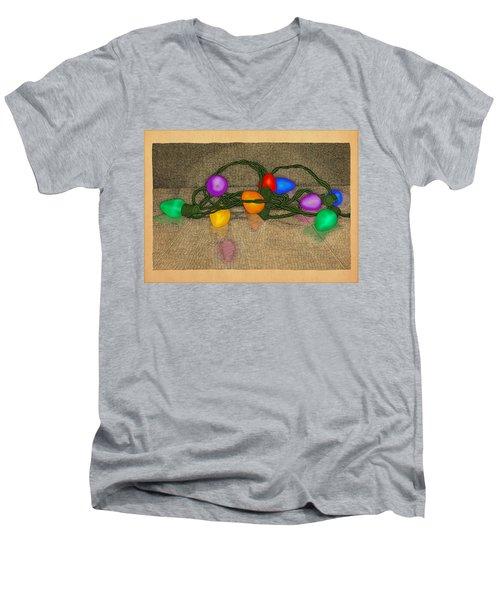 Illumination Variation #3 Men's V-Neck T-Shirt