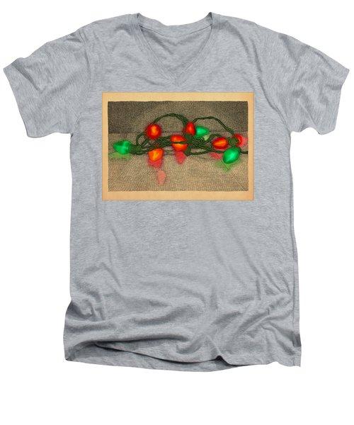 Illumination Variation #5 Men's V-Neck T-Shirt