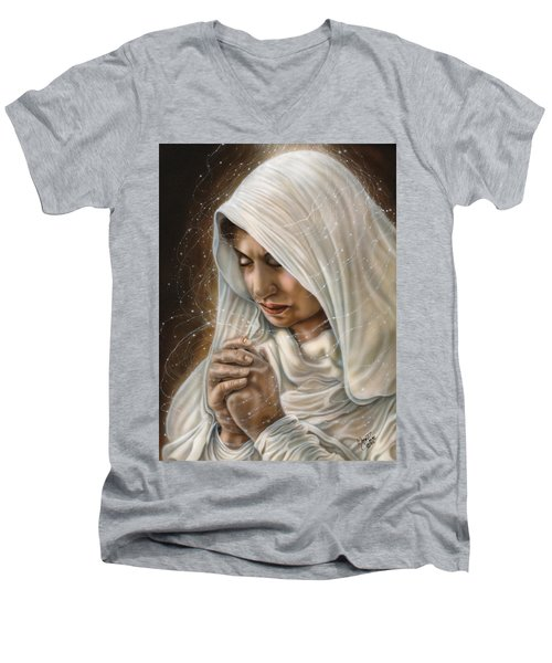 Immaculate Conception - Mothers Joy Men's V-Neck T-Shirt