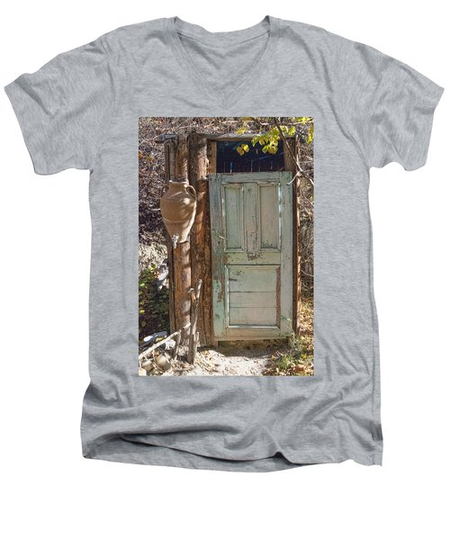 Improvised Outhouse Men's V-Neck T-Shirt