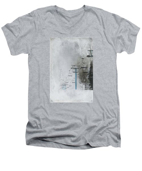 In Anticipation Men's V-Neck T-Shirt by Marilyn Wilson